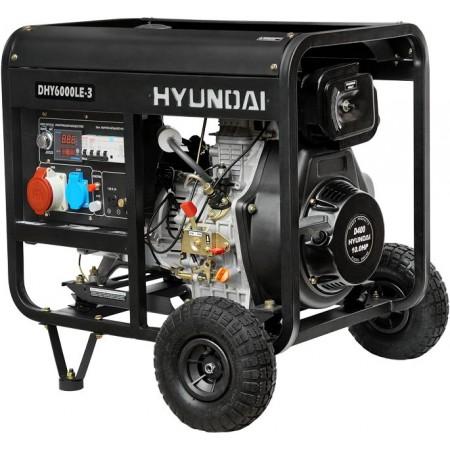 Купить в Минске Генератор дизельный HYUNDAI DHY6000LE-3 цена